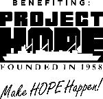 Logos for Benefiting Project Hope .